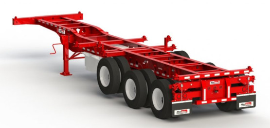 Container Chassis Specialty Equipment on Booster Jeep Dollies